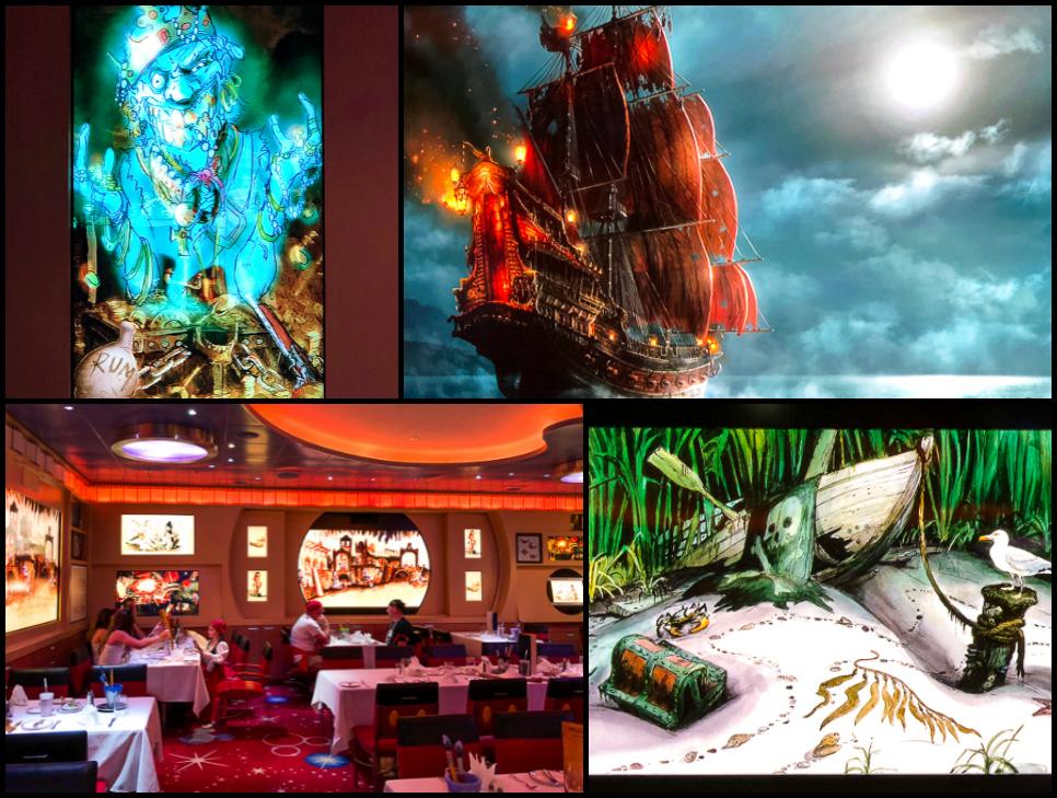 Pirate Night Dinner on the Disney Dream