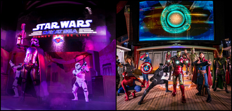 Star Wars and Marvels Day at Sea