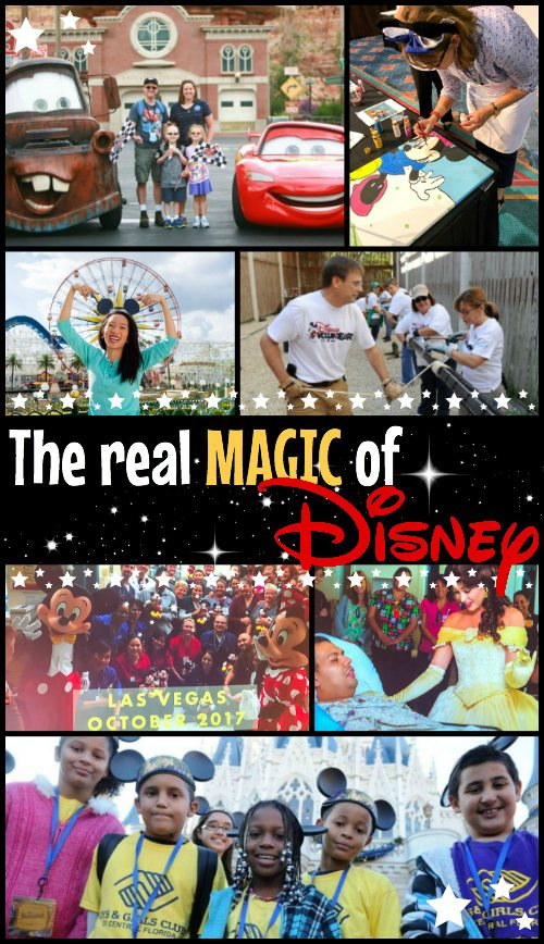 Disney Magic is that happy, hopeful, exciting feeling that your dreams can come true. The REAL Magic of Disney lies in the many ways they bring that feeling to children, families, and communities in need. At the Disney Parks, 10,000 dreams a year really do come true! #disneymagic #disney