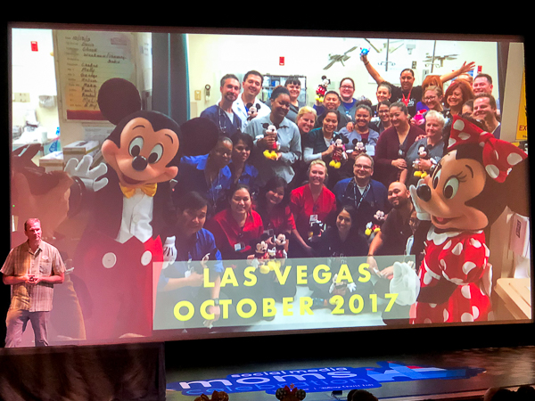 Mickey and Minnie at Las Vegas Hospital
