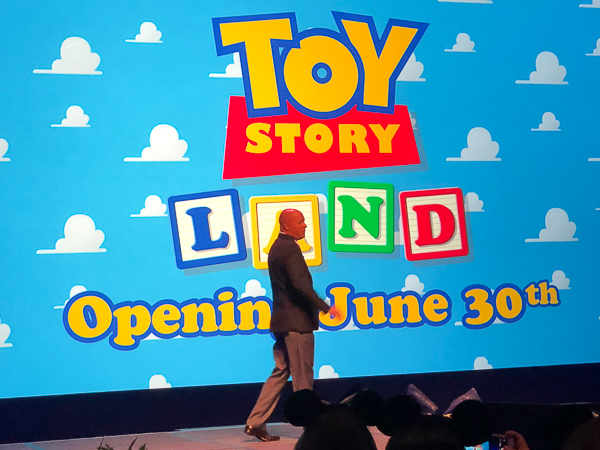Toy Story Land Opening June 30