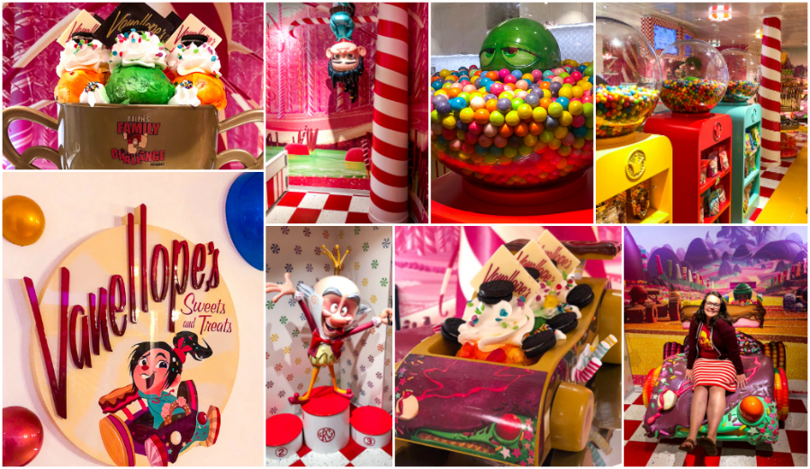 Vanellopes Sweet Shop on the Disney Dream