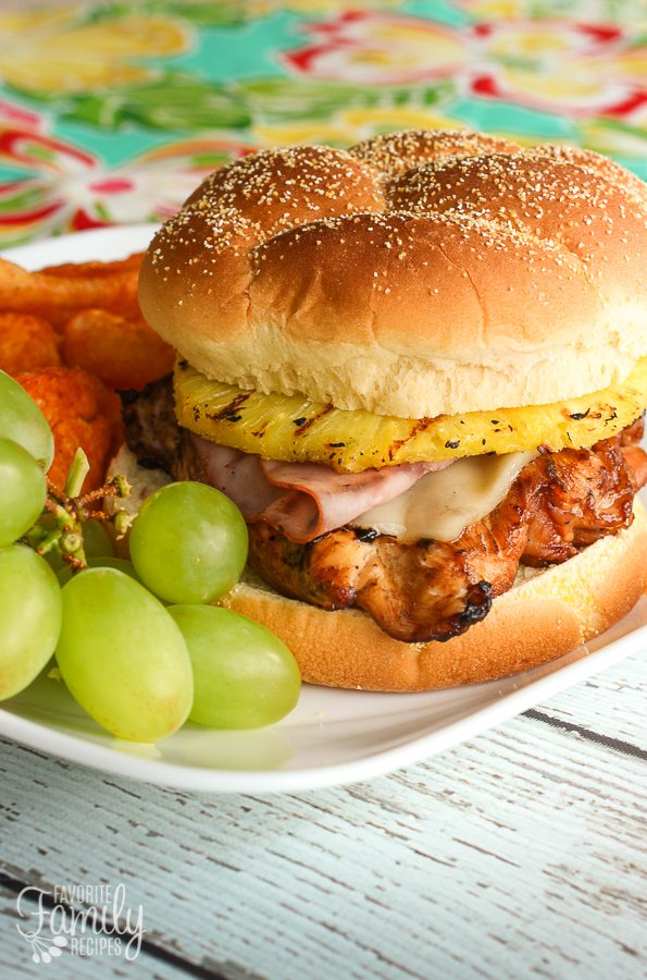 Big Kahuna Teriyaki Chicken Sandwiches