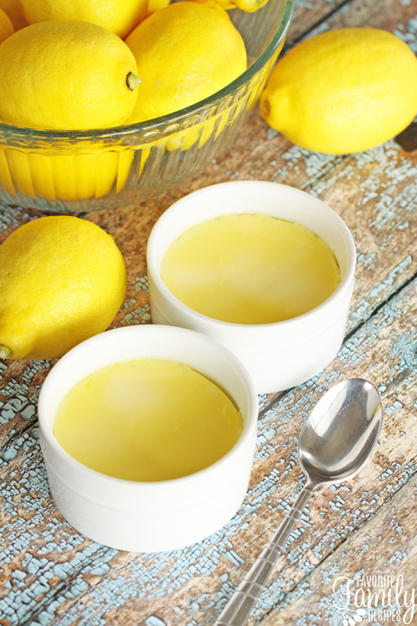 Lemon Custard in the Instant Pot