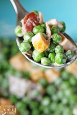 Sweet Green Pea Salad