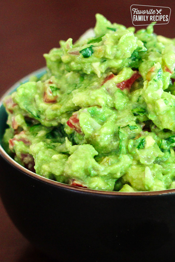 Best Guacamole Ever in a bowl