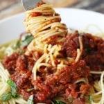 Homemade Spaghetti Sauce with Fresh Tomatoes