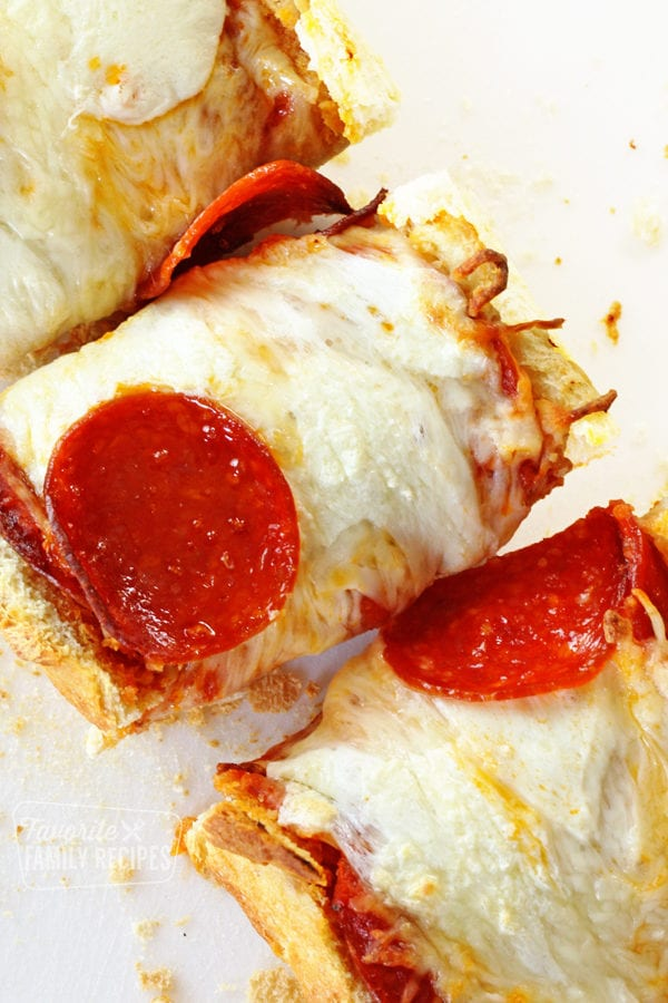 French Bread Pizza The Right Way Favorite Family Recipes