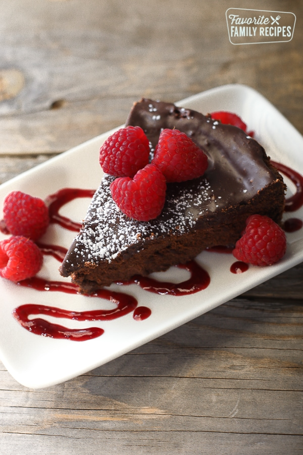 Easy Flourless Chocolate Cake Favorite Family Recipes