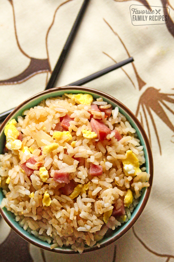 This Restaurant Style Ham Fried Rice tastes just like the rice at your  favorite take-out place. As much as I love eating out at Chinese  restaurants, ...