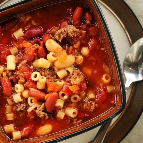 Olive Garden Pasta E Fagioli Soup Copycat Favorite Family Recipes