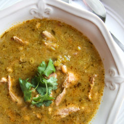 This Pork Chile Verde combines authentic Mexican flavors with tender pork in a spicy green sauce that will knock your socks off!