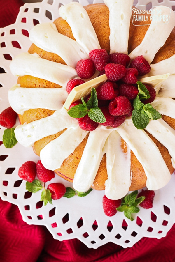 Nothing Bundt Cakes White Chocolate Raspberry Cake Copycat