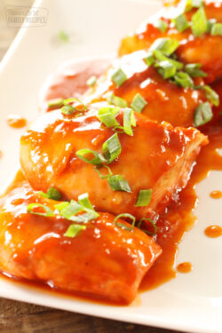 Easy Apricot Chicken (only 5 ingredients)