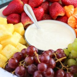 Easy Cream Cheese Fruit Dip