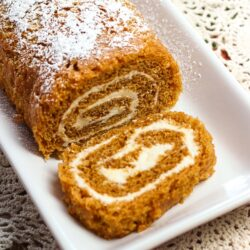 Pumpkin Roll on plate -no text