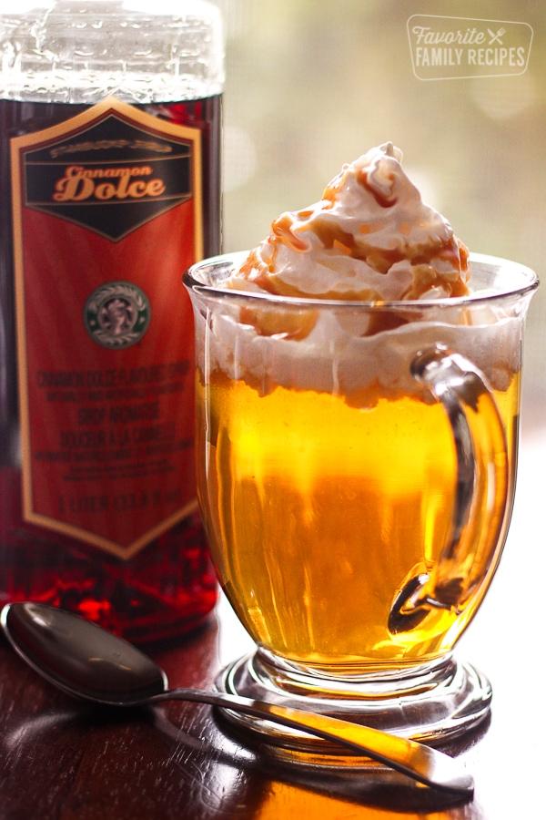 Starbucks Caramel Apple Spice Cider Copycat | Favorite