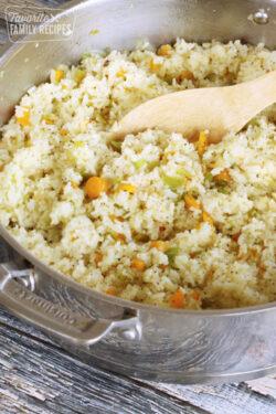 Easy Garden Vegetable Rice
