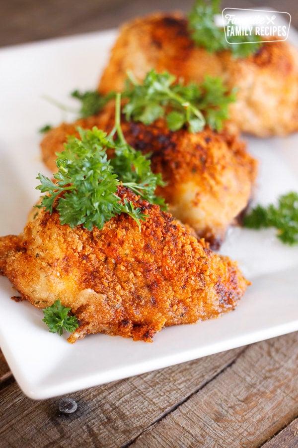Anniversary Paprika Chicken on a serving platter