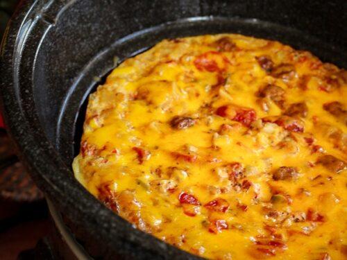 Crockpot Breakfast Casserole in a Crock Pot