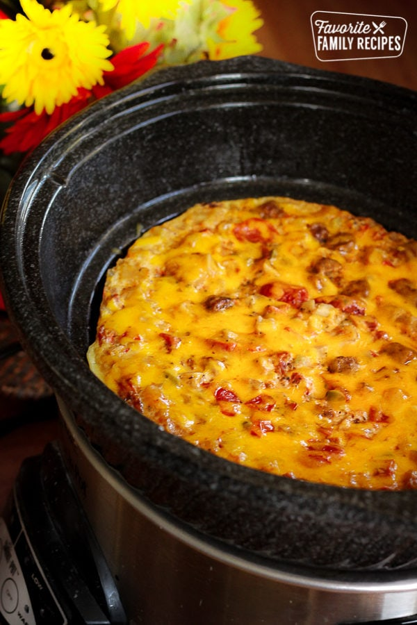 Crockpot Breakfast Casserole Favorite Family Recipes