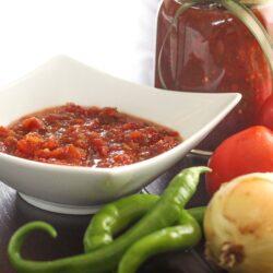 Canned Garden Salsa