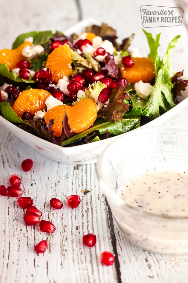 Salad with Poppy Seed Dressing