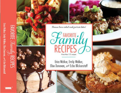 Cookbook cover of Favorite Family Recipes book