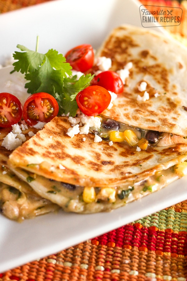Veggie Quesadillas Favorite Family Recipes