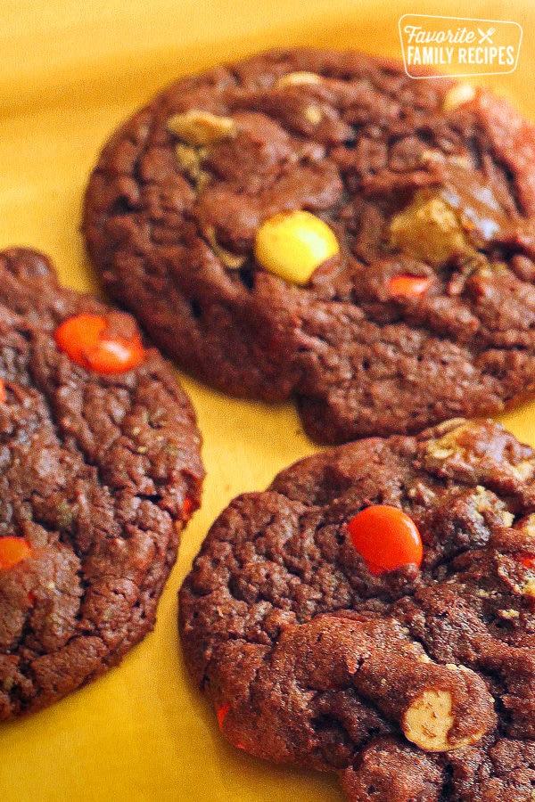 Chocolate Reese's Cookies
