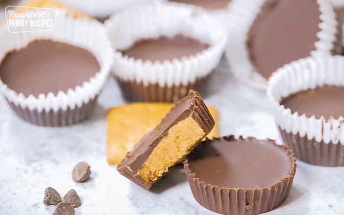 Completion shot for the Reeses Peanut Butter Cups