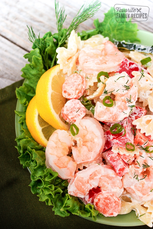 Shrimp Pasta Salad Favorite Family Recipes