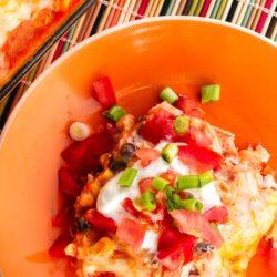 Southwestern Chicken Casserole