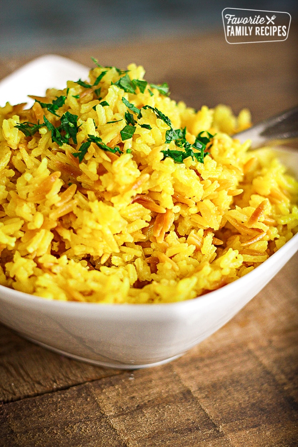 Rice Pilaf with Orzo | Favorite Family Recipes