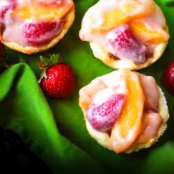 Strawberry Peach Tarts