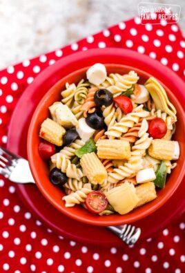 Summer Italian Pasta Salad