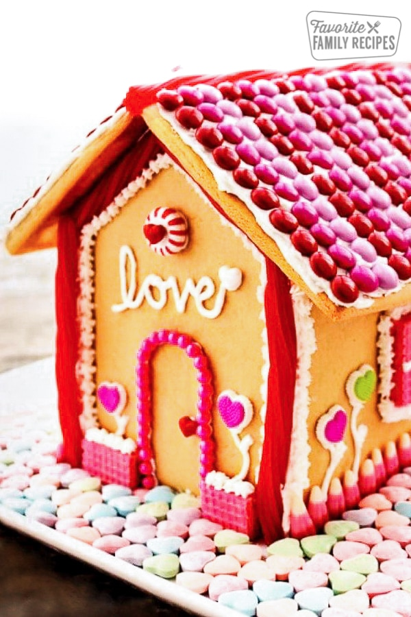 Valentine S Day Gingerbread House Favorite Family Recipes