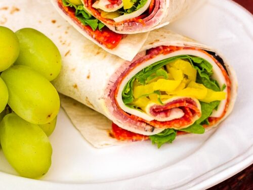 Zesty Italian Lunch Wrap