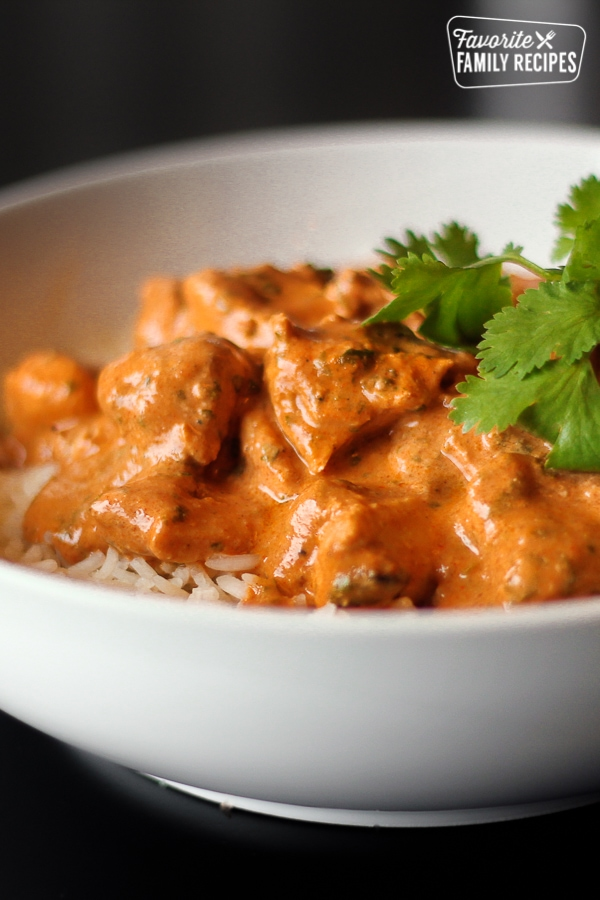 Easy Chicken Tikka Masala Favorite Family Recipes