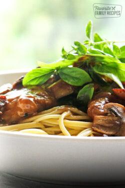 Olive garden pasta e fagioli soup copycat favorite - Olive garden chicken marsala calories ...