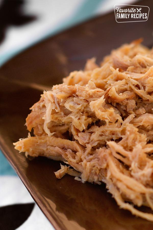 Kalua Pork on a plate