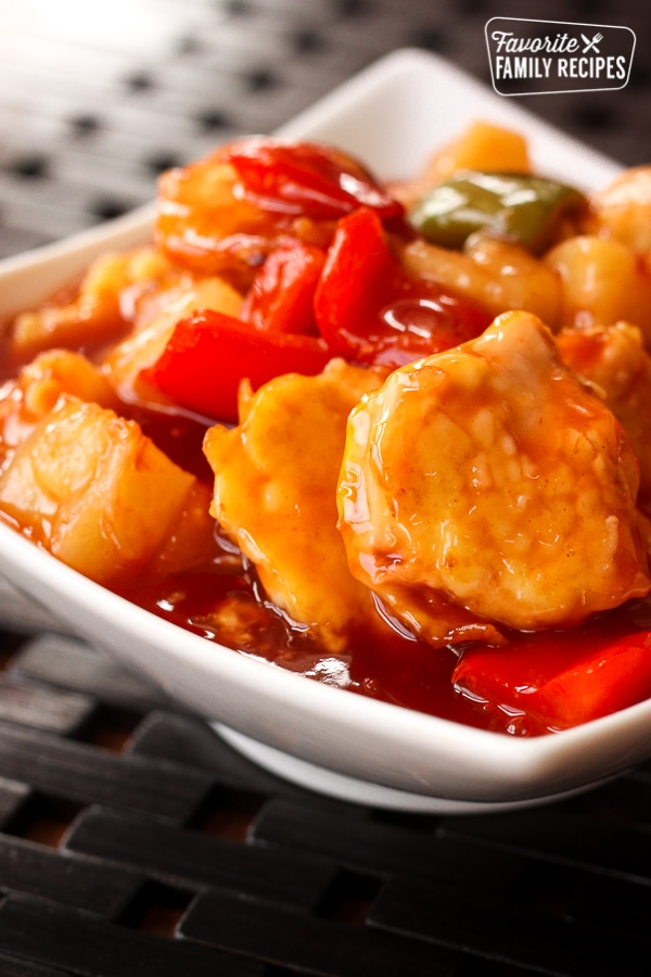 Baked Sweet And Sour Chicken Favorite Family Recipes