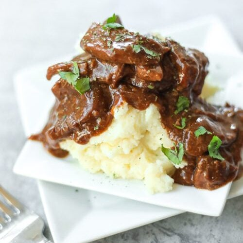 Crock Pot Steak And Gravy Only 3 Ingredients Favorite Family Recipes