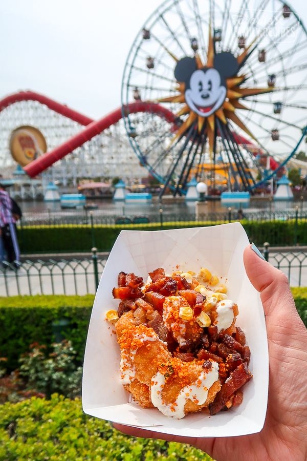 Sweet corn nuggets from the Disney California Adventure Food and Wine Festival
