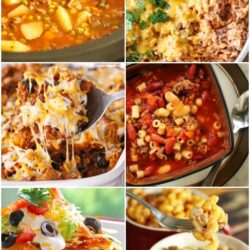 Collage of Ground Beef Recipes