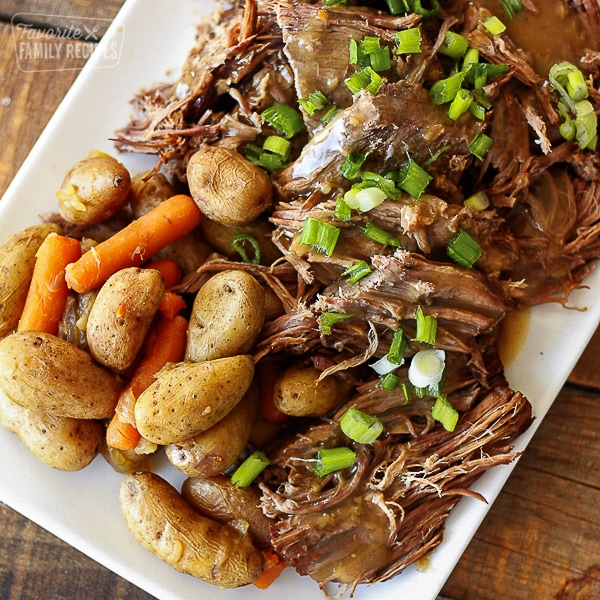 Sunday Pot Roast Instant Pot Recipe Favorite Family Recipes
