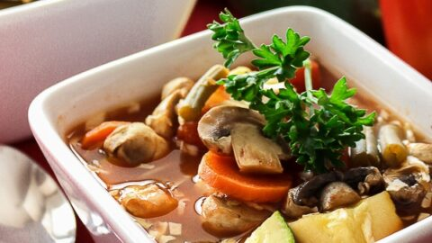 Can you lose weight eating vegetable soup