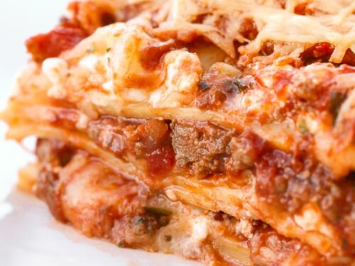 Aunt Lana S Lasagna Recipe Favorite Family Recipes