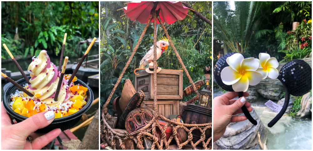 Tropical Hideaway in Disneyland Menu Items
