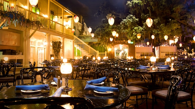 Blue Bayou Restaurant in New Orleans Square Disneyland